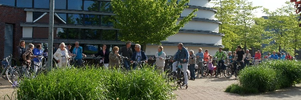 Dauwtrappen en Hemelvaartsdienst Open Kring en Stinskerk
